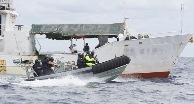 NZ Defence Force Has Helped Inspect 140 Vessels Since June