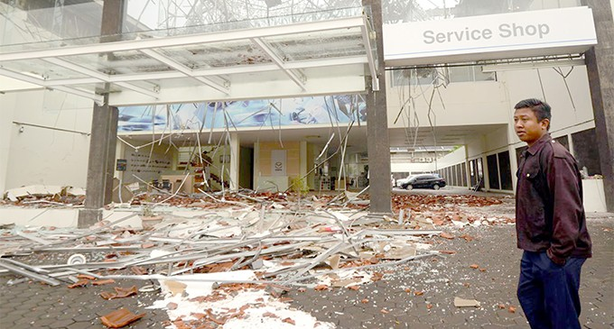 Ratu Inoke Details the Indonesian Earthquake