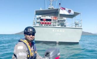 Praise For RFNS Kikau Officers, Sailors