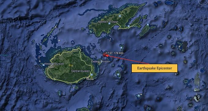 3.9 Magnitude Earthquake Occurred 10 km NNW from Wakaya.