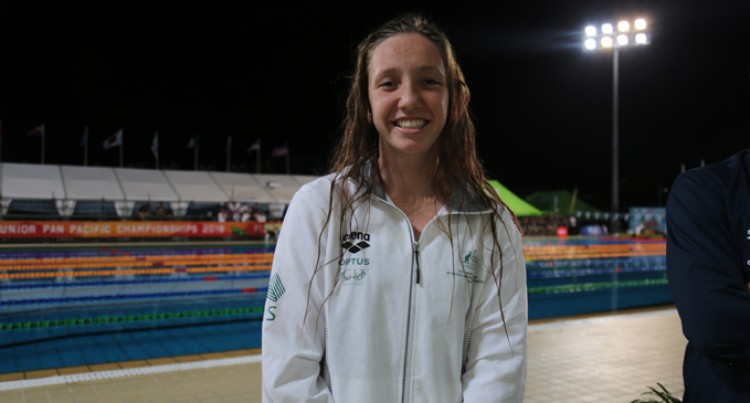 Lani Wins Oz First Gold Medal