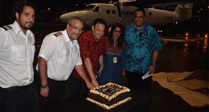 Fiji Link's Fourth Viking 400 Twin Otter Arrives