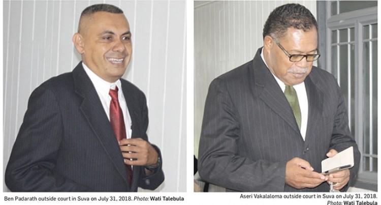 Padarath, Vakaloloma Await Sentencing For Forgery