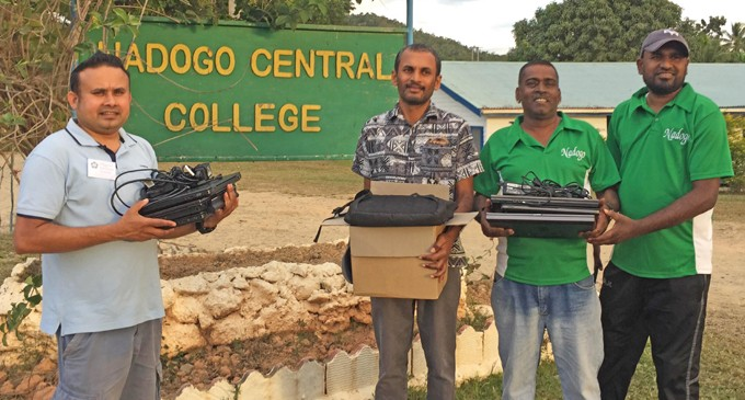 Laptop Donation Helps Rural Students