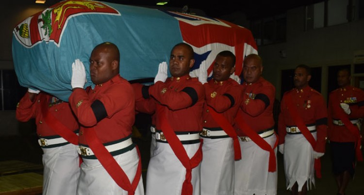 Body Of Major Tadu Arrives From USA, Burial Thursday
