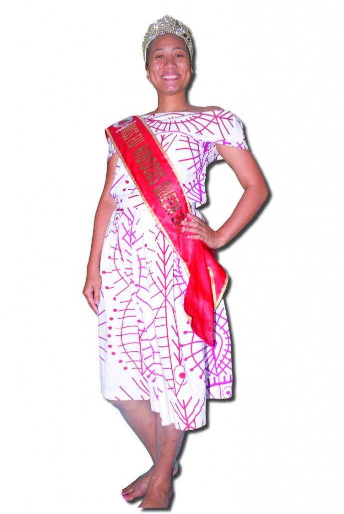 2018 Vodafone Fiji Hibiscus queen Jessica Fong. Photo: Simione Haravanua