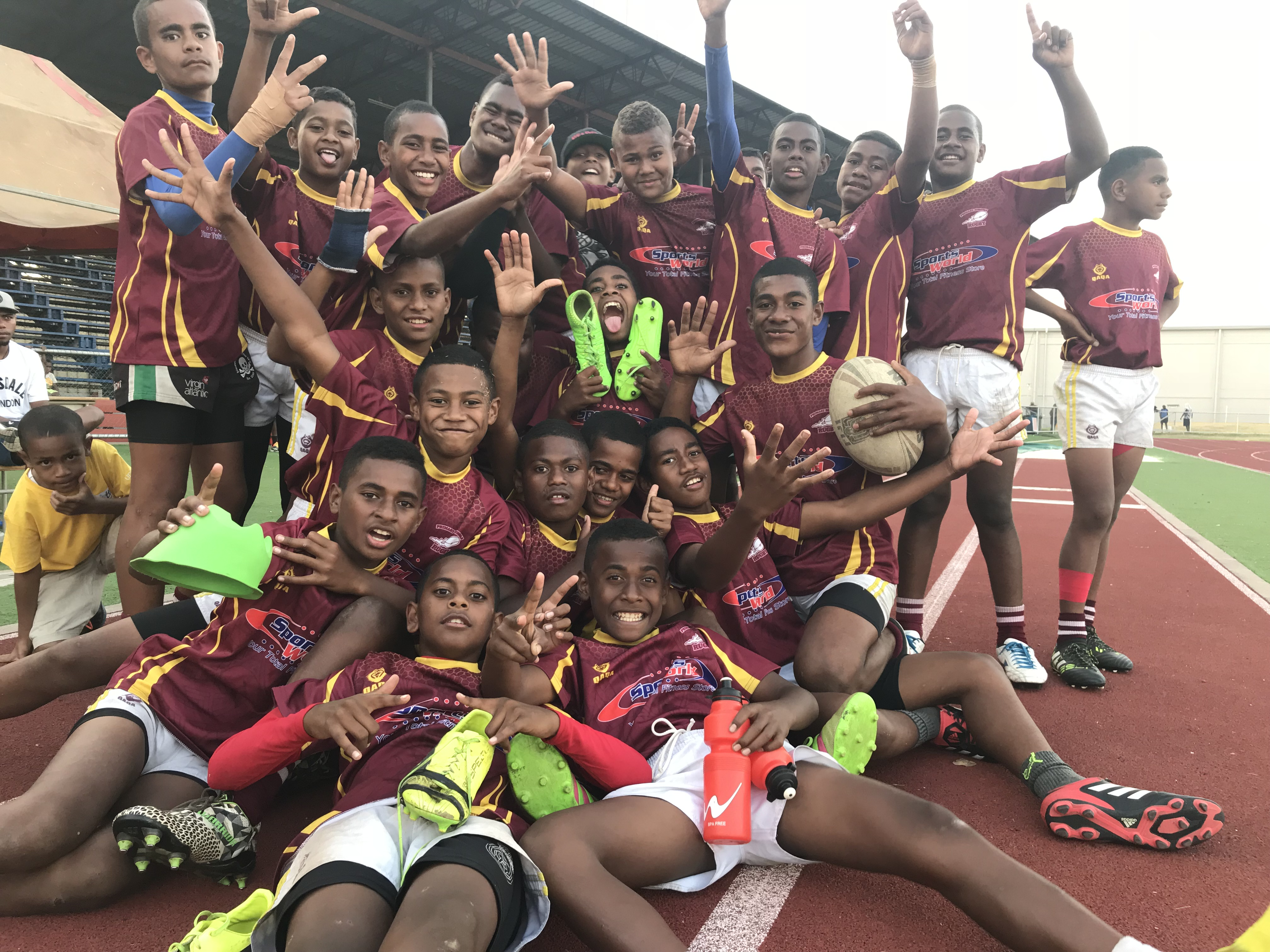 Lautoka kaji rugby team at Churchill Park on August 14, 2018. Photo: Yogesh Chandra