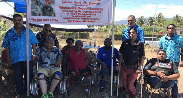 Wheelchair Repair Facility Takes Shape