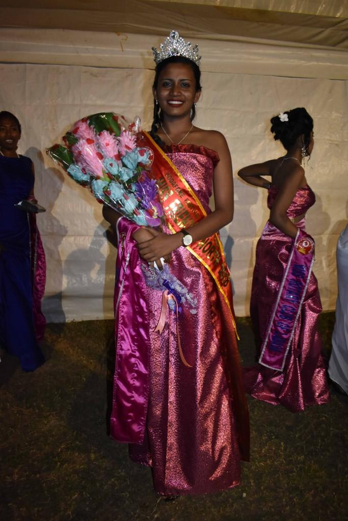 Miss Vodafone Festival of the Friendly North Miss Labasa Divisional Hospital Naima Shazmeen at Subrail Park in Labasa on August 25,2018. Photo:Shratika Naidu