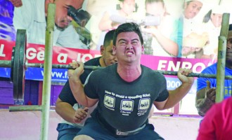 USP Dominate Powerlifting Competition