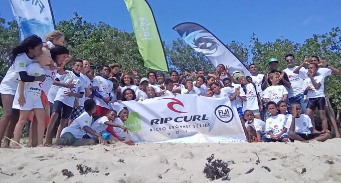 More Children Join Surfing Series