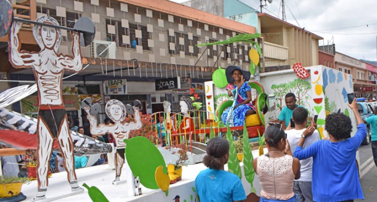 Top Honours For Town Council Float
