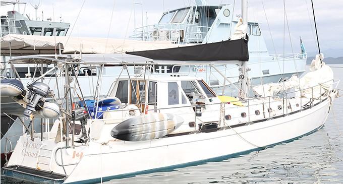 NZ Yacht, Crew Safe At Fijian Navy base