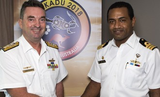 Exercise KAKADU 18: Fiji Navy Commanders Join Crew of RFNS Kikau