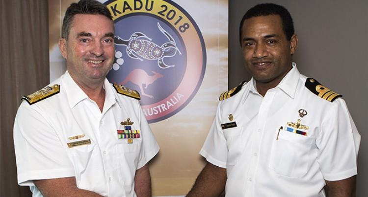 Exercise KAKADU 18: Fiji Navy Commanders Join Crew of RFNS Kikau