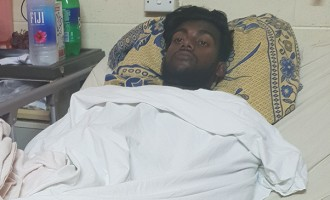 Man involved  In Accident:  I Woke Up In  Hospital