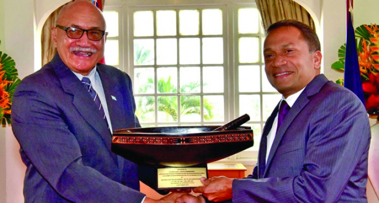 New UN Rep Meets Fiji's President
