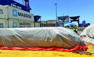 BAF Vigilant on Pests, Diseases Control at Ports of Entry