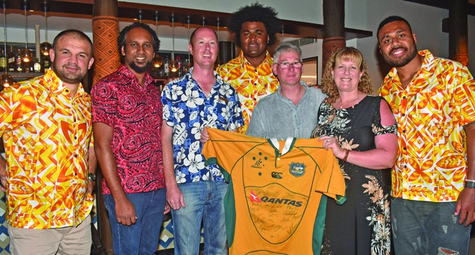 Classic Wallabies' charity dinner brings hope