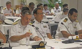 Fijian Naval Vessel Takes Part As Big Australian Navy Exercise Underway