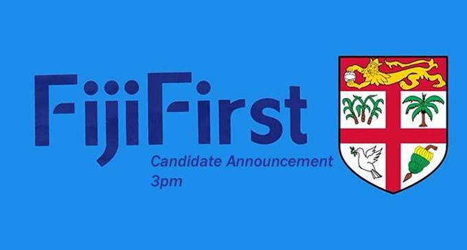FijiFirst 51 For 2018 General Elections