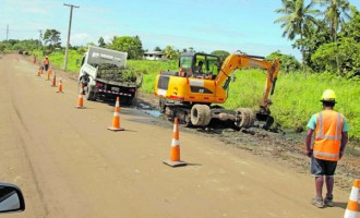 Upgrading Works On Kiuva Road Completed