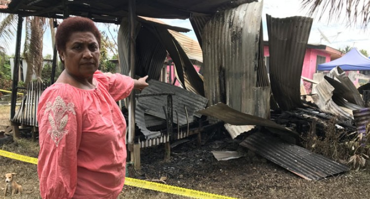 Blaze Razes Home In Lautoka