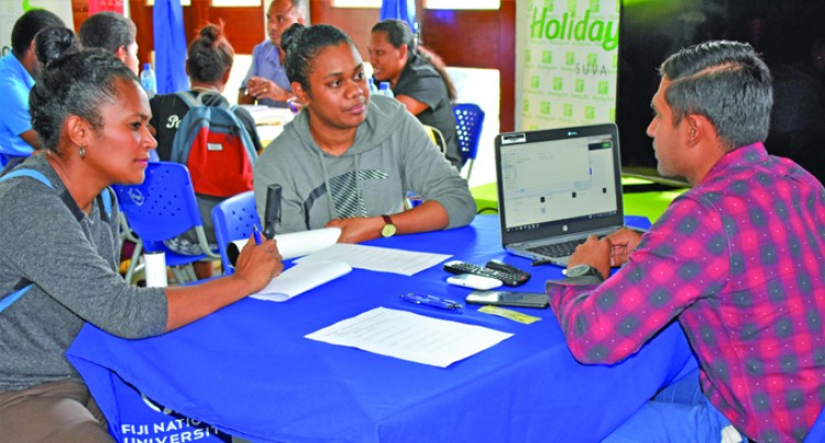 FNU Students Engage Potential Employers At Careers Fair