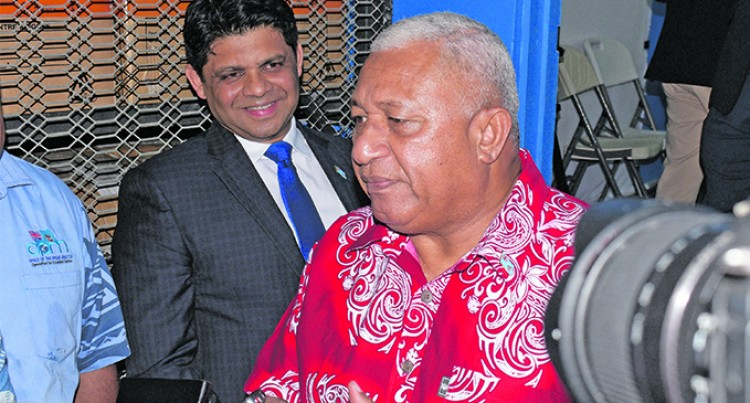 PM: FijiFirst Poll Line-up Reflects Party Core Values