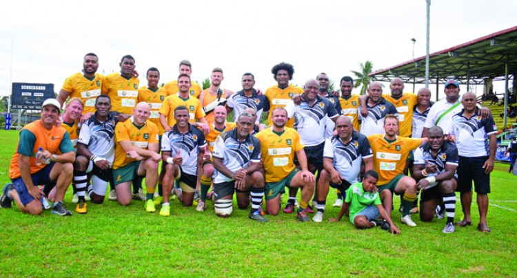 Ex-7s Stars Shine In Legends' Win