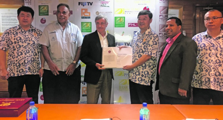China Railway First Group Ink Big Suva Tower Contract