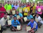 Kabara Villagers Awarded Boat Master Licence