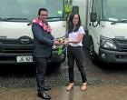 Fiji Meats Board Receives Two New Refrigerated Trucks