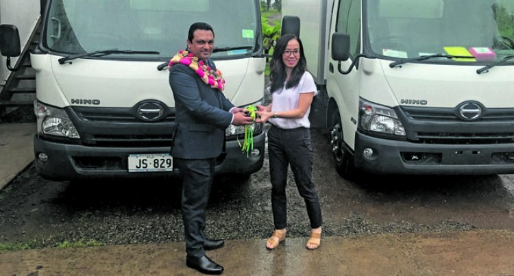Fiji Meats Board Receives Two New Refrigerated Trucks
