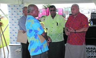 PM Bainimarama Shares his Experience