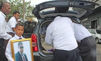 Family Farewell Fijian Killed In Kuwait Road Crash
