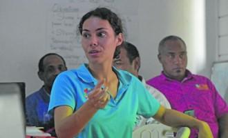 Kirwin's  'Loving Islands' Promotes Organic  Farming