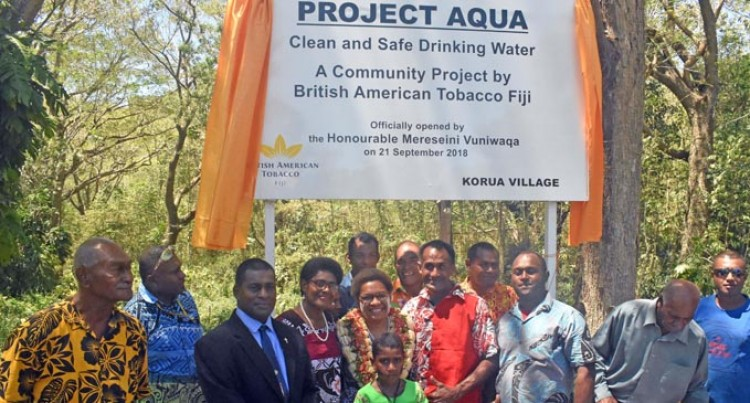 Access To Water Made Easier For Villages In Nadroga