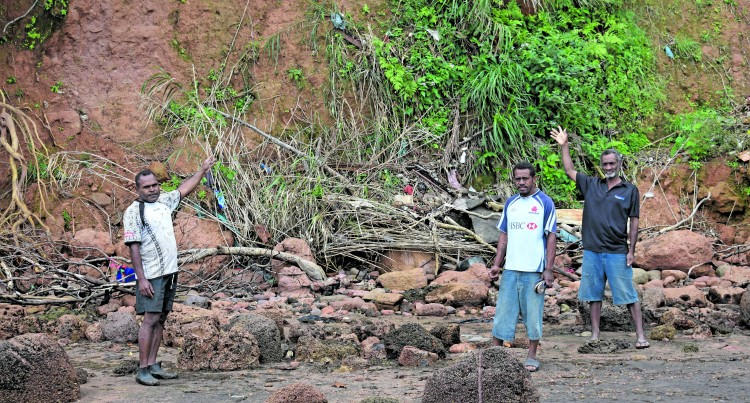 Nasegai Villagers Seek Solutions Against Landslides
