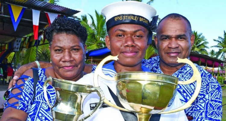 Navy Scholarship Recipients Fly Out