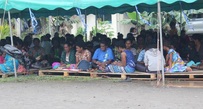 Saint Vincent De Paul Parish of Nausori church members during the 50 years Golden Jubilee Celebration on September 29,2018.  Photo: Simione Haravanua
