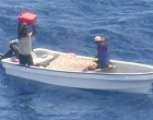 NZDF FINDS TWO MEN ADRIFT IN THE PACIFIC