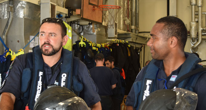 The combined operation involved personnel from the New Zealand Defence Force, New Zealand's Ministry for Primary Industries, Republic of Fiji Navy, and Fiji's Ministry of Fisheries and Revenue and Customs Service.