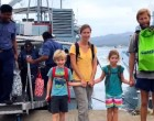 Waiqori Villagers In Oneata Rescue German Family From Sinking Yacht