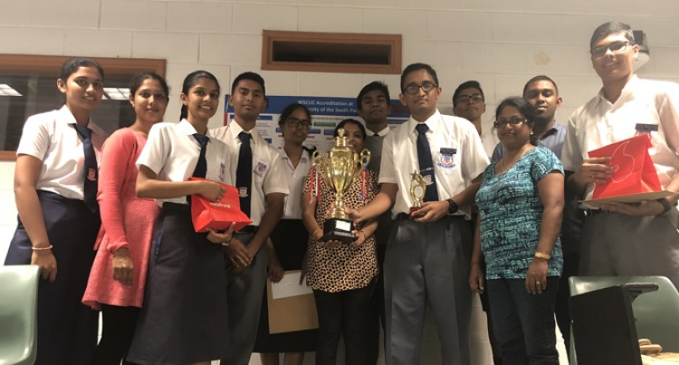 Rishikul Reaps Reward At National Chem Quiz Battle