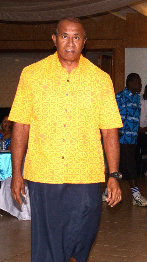 Ro Filipe Tuisawau at the Novotel Suva Lami Bay on September 1, 2018. Photo: Selita Bolanavanua