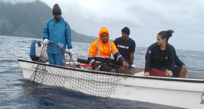 Ra fishers visit  Kadavu counterparts