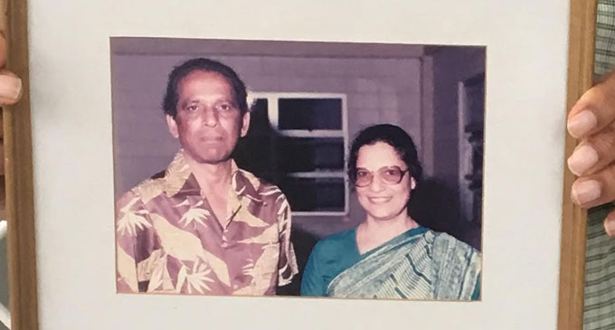 The late  Jai Narayan and  Irene Naraya.