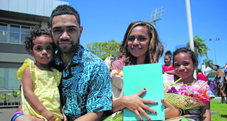 Lomalagi Does It For Late Dad