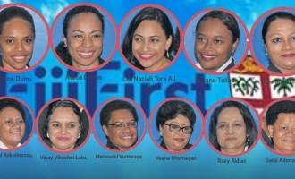 11 Women Boost FijiFirst